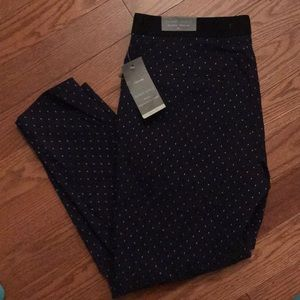 Maurices skinny ankle mid-rise pull on pants